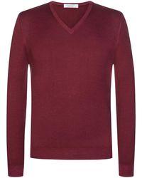 Gran Sasso Pullover - Rot