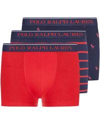 Polo Ralph Lauren Boxerslips 3er-Set - Blau