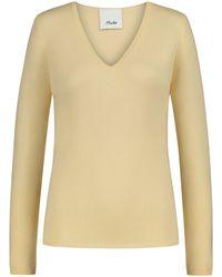 Allude Cashmere-Pullover - Gelb