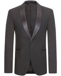 Z Zegna Turati Drop 8 Smoking - Schwarz