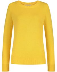 Tory Burch Cashmere-Pullover - Gelb