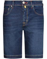 Jacob Cohen J6636 Jeansshorts - Blau