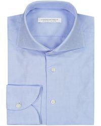 Lodenfrey Businesshemd Slim Fit - Blau