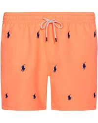 Polo Ralph Lauren Badeshorts - Orange