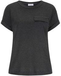 Brunello Cucinelli T-Shirt - Grau