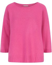 Hemisphere Cashmere-Pullover - Pink