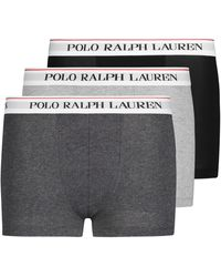 Polo Ralph Lauren Boxerslips 3er-Set - Schwarz