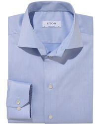 Eton of Sweden Businesshemd Contemporary - Blau