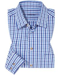 Lodenfrey Trachtenhemd - Blau