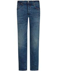 RRL Slim Narrow Jeans - Blau