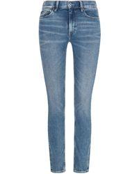 Polo Ralph Lauren The Tompkins Jeans Mid Rise Skinny - Blau