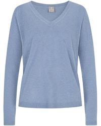 FTC Cashmere Cashmere-Pullover - Blau