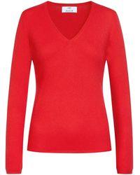 Allude Cashmere-Pullover - Rot