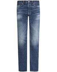 RRL Jeans Low Straight - Blau