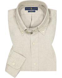 Polo Ralph Lauren Casualhemd Slim Fit - Natur