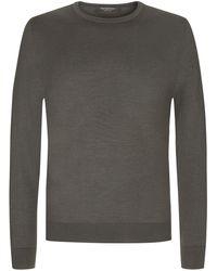 Ermenegildo Zegna Cashmere-Pullover - Grau