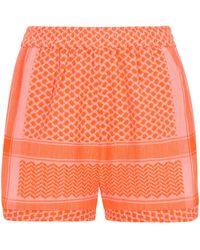 Cecilie Copenhagen Shorts - Orange