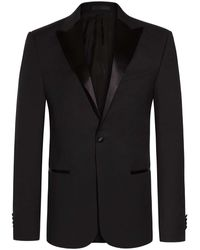 Z Zegna Drop 8 Smoking Slim Fit - Schwarz