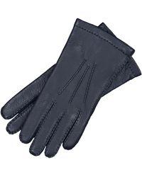 Riemer Lederhandschuhe - Blau