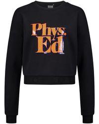 P.E Nation Feature Sweatshirt - Schwarz