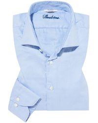 Stenstroms Casualhemd Slimline - Blau