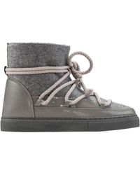 Inuikii Felt Sneaker Boots - Grau