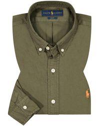 Polo Ralph Lauren Casualhemd Slim Fit - Grün