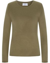 Allude Cashmere-Pullover - Grün