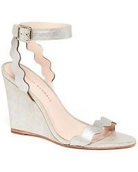 Loeffler Randall - Piper Ankle Strap Wedge Sandal - Lyst
