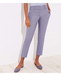 LOFT - Slim Pencil Pants In Custom Stretch In Julie Fit - Lyst