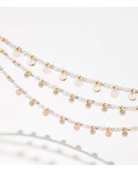 LOFT Bauble Necklace - Metallic