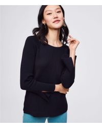 LOFT | Slit Cuff Sweater | Lyst