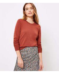 LOFT - Everyday Sweater - Lyst