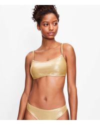 LOFT Beach Shimmer Bikini Top - Multicolour