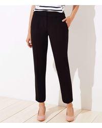 LOFT Petite Slim Pencil Pants In Curvy Fit - Black
