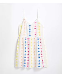 LOFT Lou & Grey Fringe Cami Dress - White
