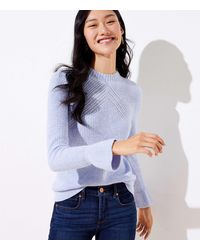 LOFT Flare Sleeve Jumper - Multicolour