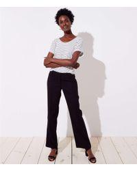 LOFT - Tall Trousers In Twill In Marisa Fit - Lyst