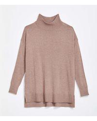 LOFT - Hi-lo Tunic Sweater - Lyst