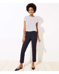 LOFT Petite Riviera Trousers In Marisa Fit - Black