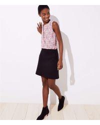 LOFT - Petite Pocket Shift Skirt - Lyst