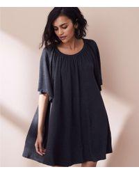 LOFT - Lou & Grey Signaturesoft Swingy Tee Dress - Lyst