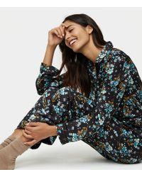 LOFT - Winter Garden Silky Pyjama Trousers - Lyst