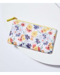 LOFT Floral Sunglasses Case - Multicolour