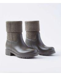 LOFT Ankle Rain Boots - Grey