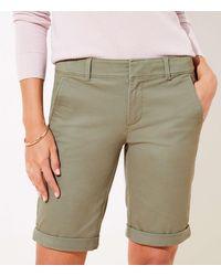 LOFT Bermuda Shorts - Green