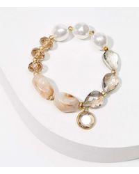 LOFT - Stone Bracelet - Lyst