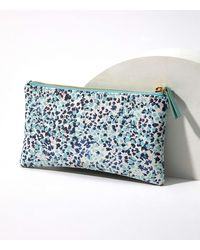 LOFT Wildflower Sunglasses Case - Blue