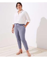 LOFT - Plus Slim Pencil Pants In Custom Stretch - Lyst