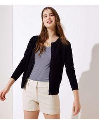 LOFT Riviera Shorts With 4 Inch Inseam - Multicolour